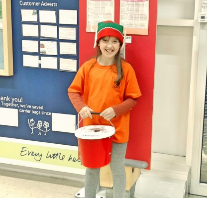 One of several little elf helpers!