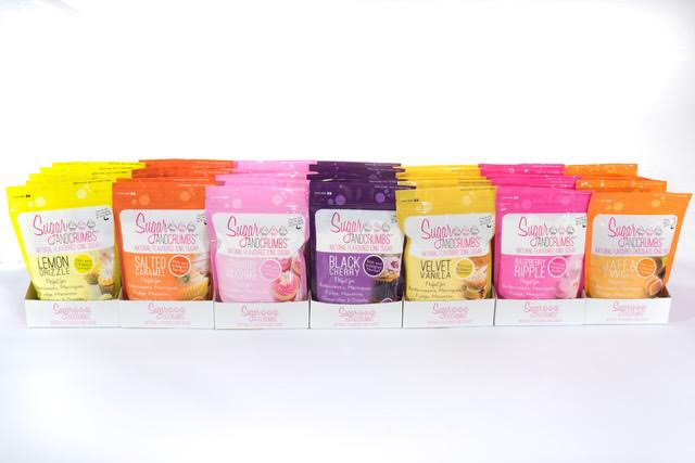 Sugar and Crumbs flavoured icing sugars