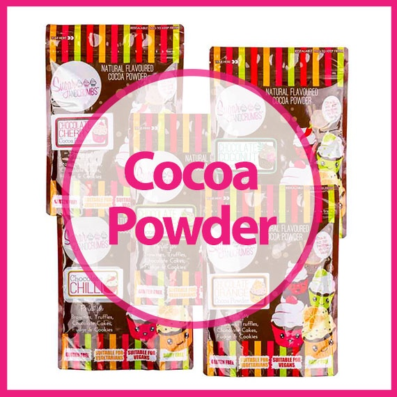 Sugar and Crumbs flavoured cocoa  powders